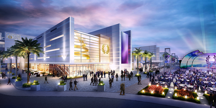 Caesars Structure Permitted by Casino Management Commission